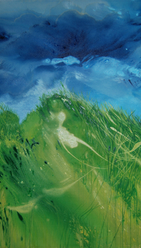 Waves of Grass Left panel