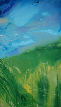 Waves of Grass Middle panel
